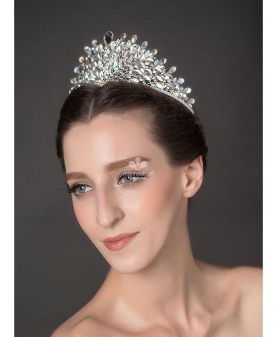 tiara-alta-da-sposa-con-foglioline-di-strass