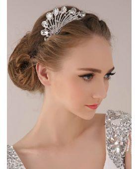 tiara-sposa-argento-strass