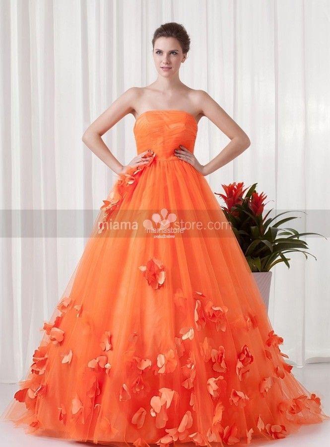 abiti-da-sposa-colorati-arancio