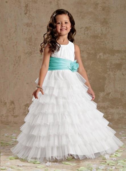e8d1cb25d7 vestito-cerimonia-comunione-bambina-con balze - Blog MiamaStore