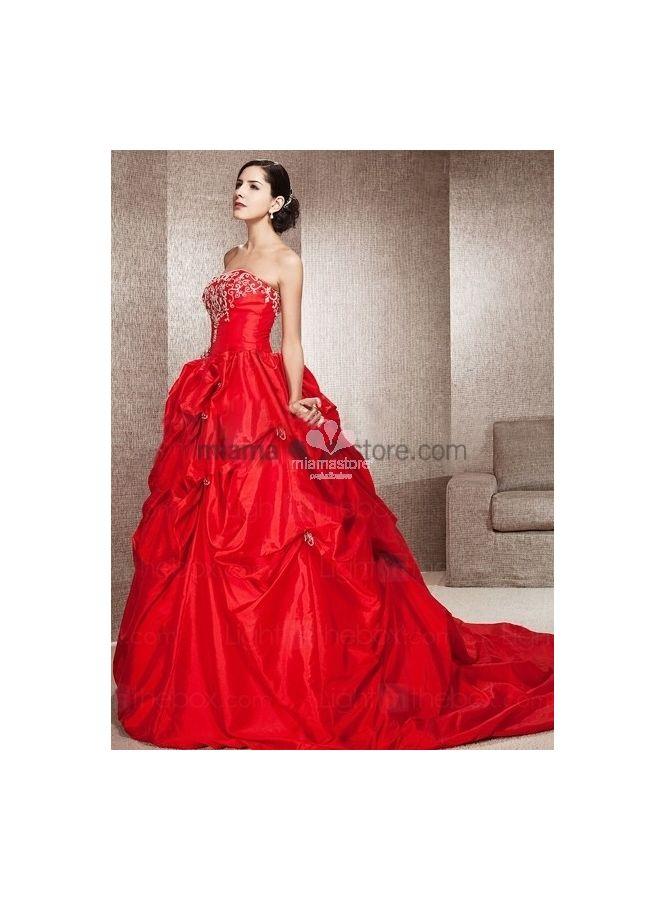 abiti-da-sposa-colorati-rosso-online-economici
