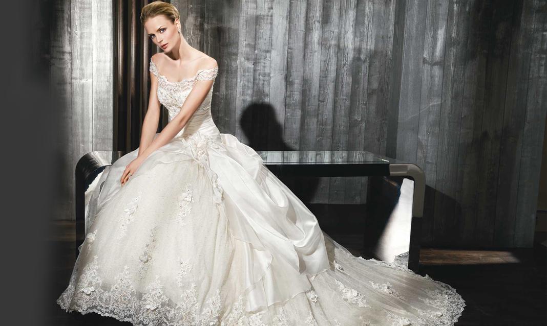 2fcc4160ca86 Gli abiti da sposa 2019 Miamastore  tra pizzi e tulle pregiati - Blog  MiamaStore %