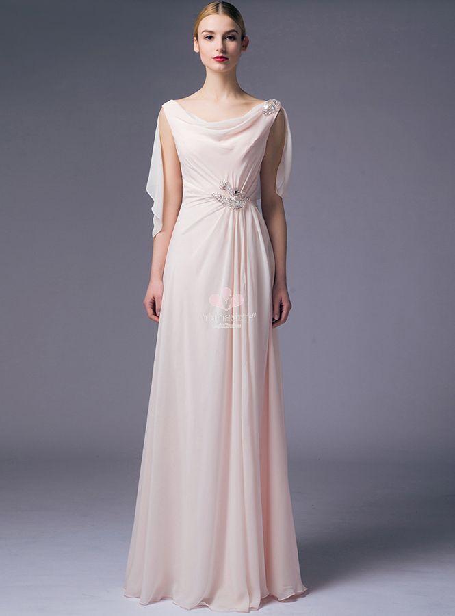 ec431fab3f3f abito-da-cerimonia-economico-rosa-lungo-con-mantellina-coprispalle ...