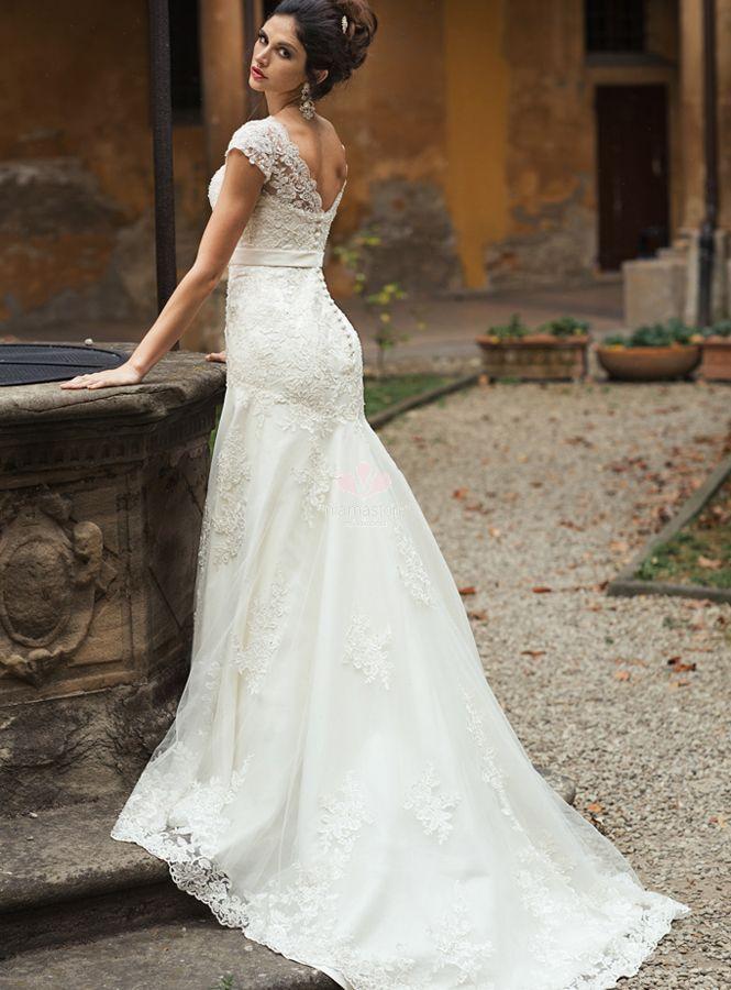 4916b782ffe9 Strascico dell abito da sposa – 6 diversi tipi - Blog MiamaStore