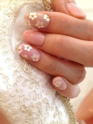 nail-art-sposa-unghie-fiori