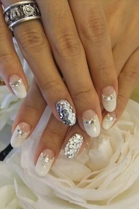 nail-art-sposa-glitter