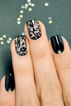 nail-art-sposa-dark