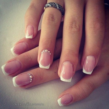 nail-art-sposa-french