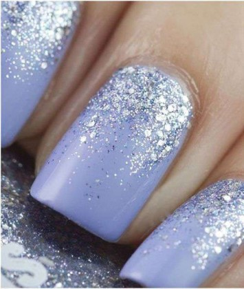 nail-art-sposa-colorate-glitter