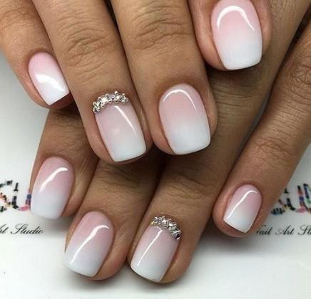 nail-art-sposa-manicure-sfumata