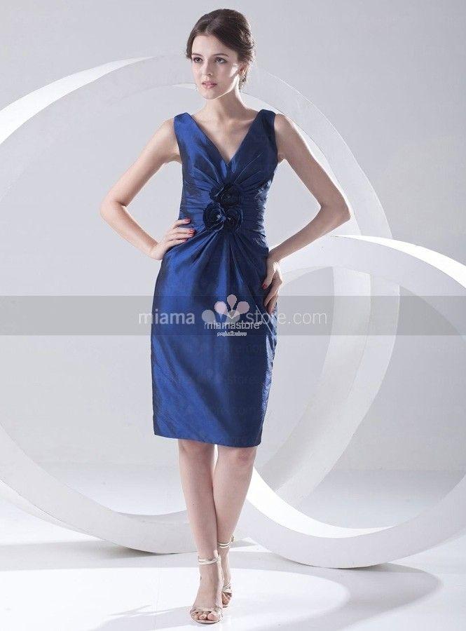 abiti-da-cerimonia-corti-tubino-blu-elettrico-online