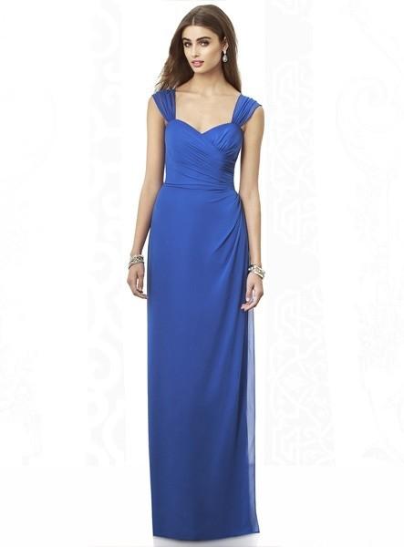 abiti-da-cerimonia-per-damigelle-blu-semplici