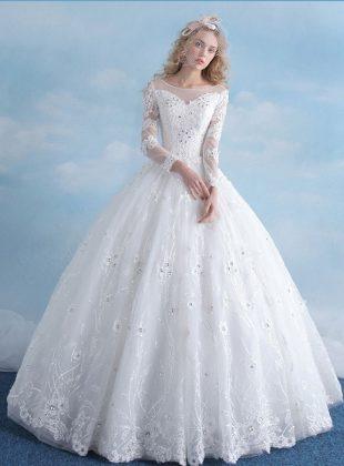 Abiti-da-sposa-principessa-online-economiciAbiti-da-sposa-principessa-online-maniche-pizzo
