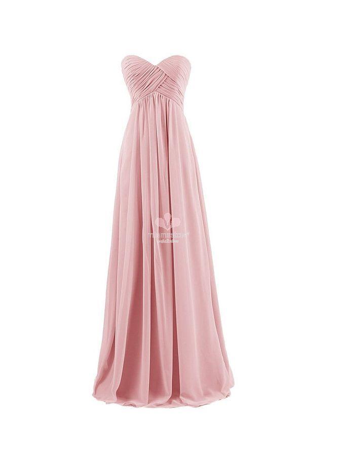 best authentic c4349 be5ee vestito-per-damigella-in-pronta-consegna-rosa-antico-online ...