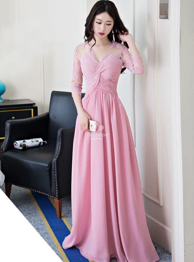 new product 6b44d 9b84f abito-da-cerimonia-pronta-consegna-in-rosa-confetto-con ...