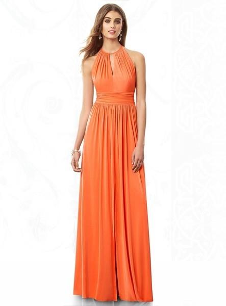 promo code 34045 bee78 yvonne-bridesmaid-cheap-sheath-column-floor-length-chiffon ...