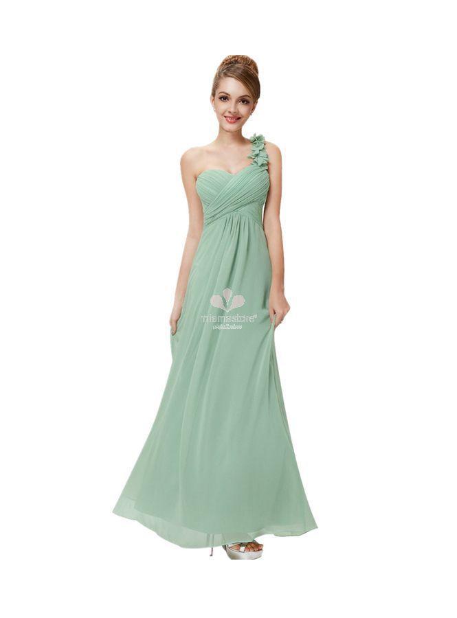 vestito-da-damigella-lungo-a-monospalla-verde-chiaro