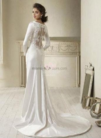 67d684d895cf 20 Abiti da sposa per rito civile e simbolico - Blog MiamaStore