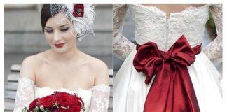abito-da-sposa-bianco-con-fiocco-rosso